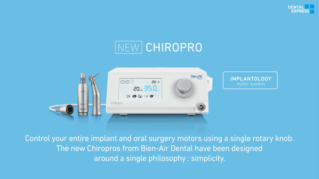 New Chiropro & New Chiropro Plus – Implant Dentistry And Oral Surgery Devices